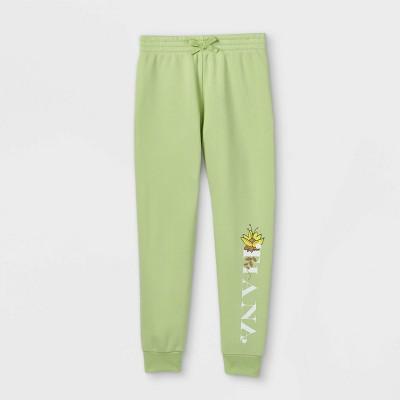 Girls' Disney Tiana Jogger Pants - Green