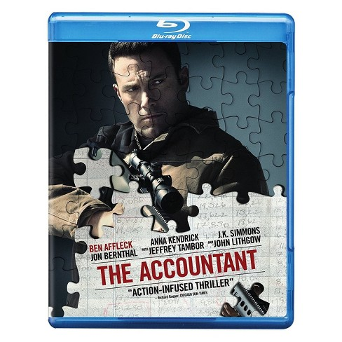 The Accountant (Blu-ray) - image 1 of 1