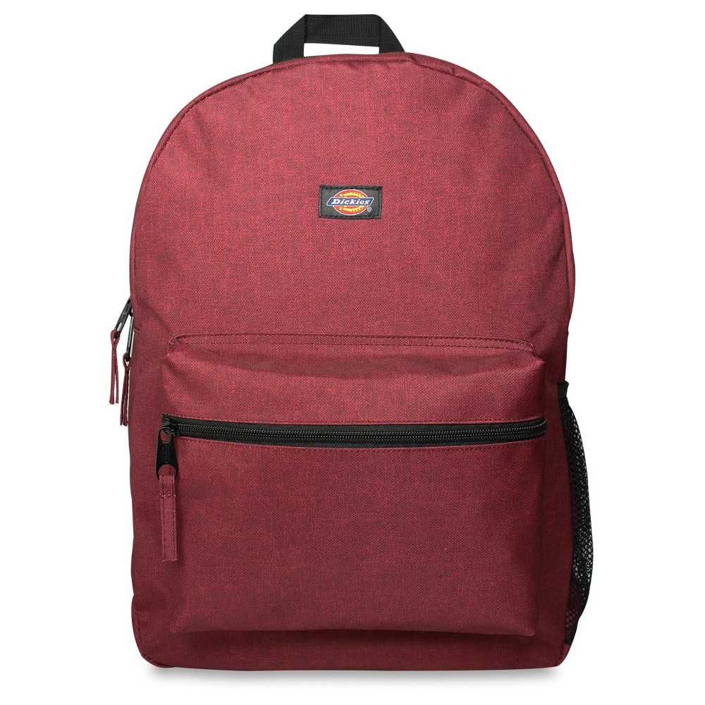 "Image of ""Dickies 17"""" Solid Student Backpack - Scarlet Red, Size: Large"""