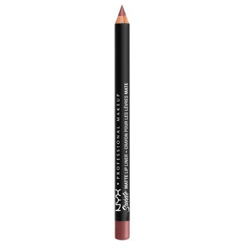 NYX Professional Makeup Suede Matte Velvet Smooth Lip Liner - Vegan Formula - 0.035oz - image 1 of 2