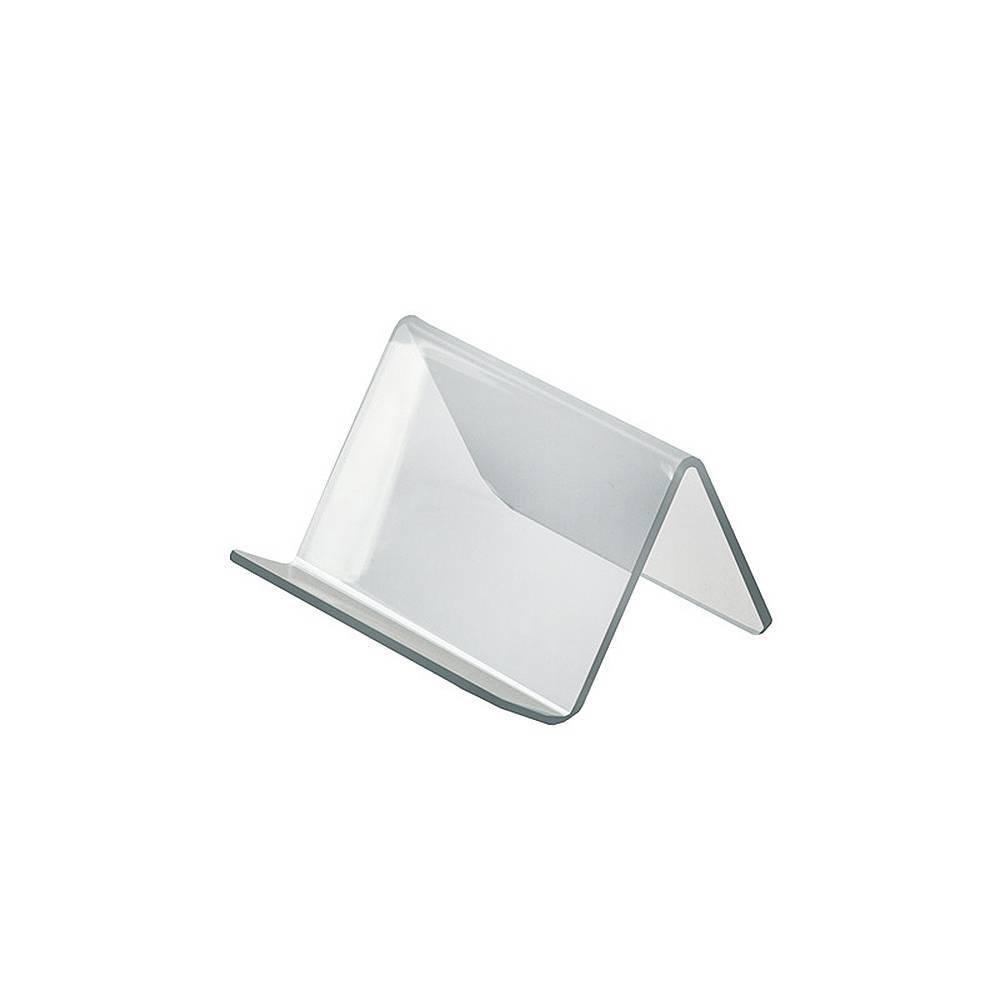 Azar Displays 3 75 X 3 5 X 2 5 10pk Acrylic Easel With 1 Front Lip