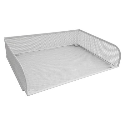 Steel Mesh Letter Tray, White - Room Essentials™