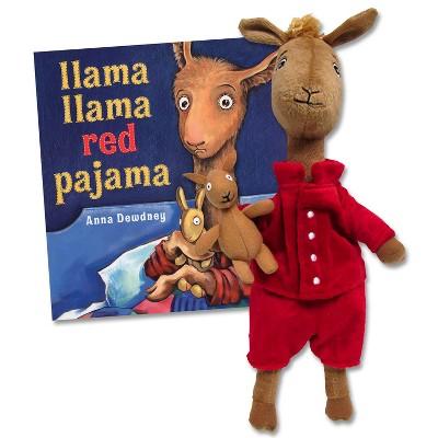 Kids Preferred Llama Llama Red Pajama Hardback Book & Plush Set