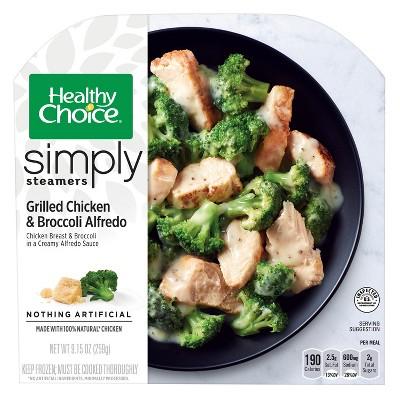 Healthy Choice Simply Frozen Chicken Broccoli Alfredo - 9.15oz