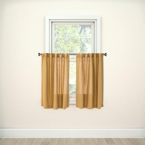 Bonaire Tier Curtain Panels - Threshold™ - image 1 of 3