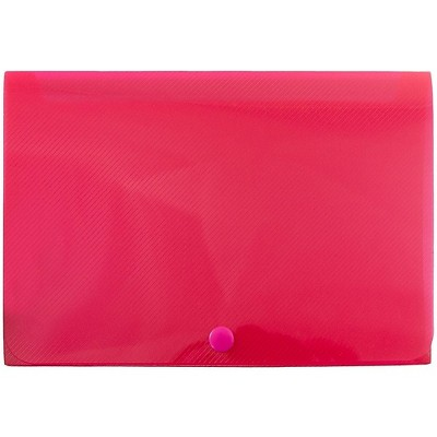 JAM Paper Plastic Index Card Case 6 1/8 x 3 3/4 x 1 Red Sold Individually 374032785