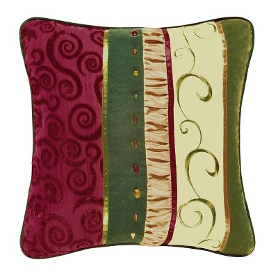 C&F Home Holiday Treasures Pillow