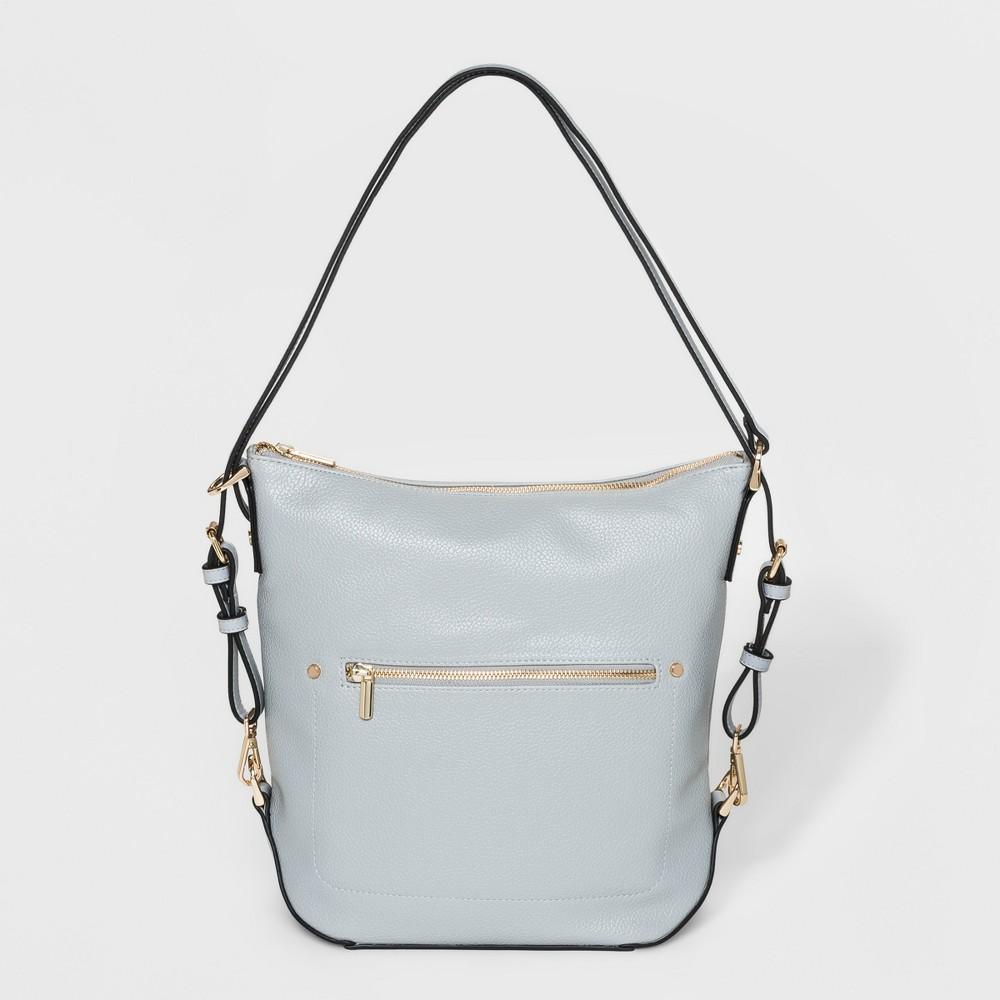 Best Discount Everyday Essential Convertible Hobo Handbag A New Day Light Blue Women