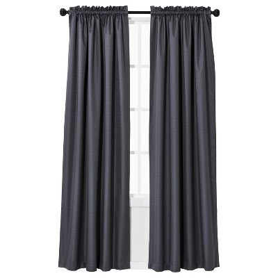 "84"" X 42"" Braxton Thermaback Blackout Curtain Panel Gray - Eclipse"
