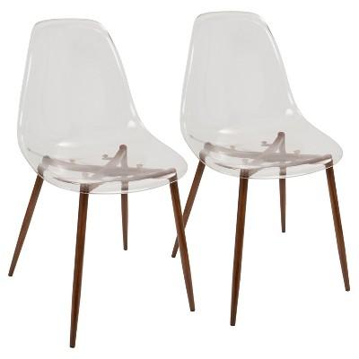 Set of 2 Clara Modern Dining Chair - LumiSource