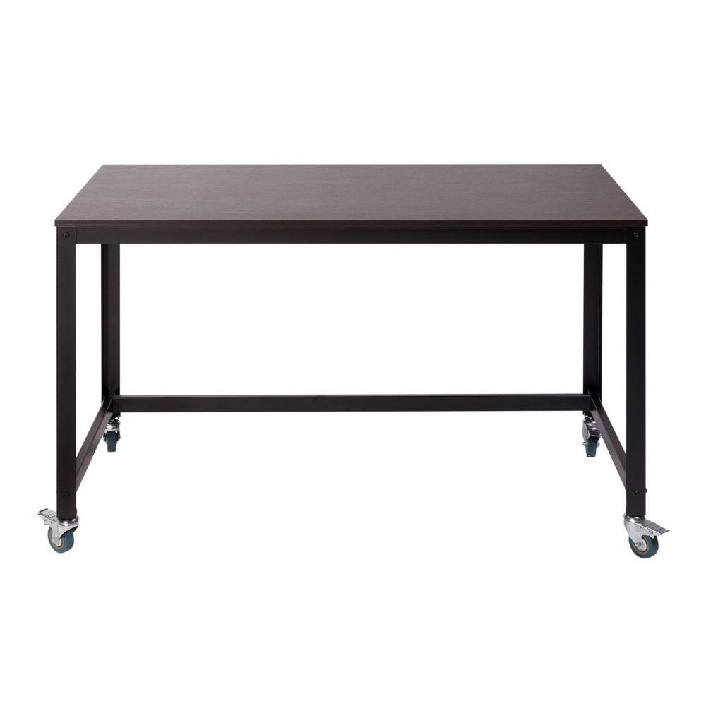 Image of Loft Writing Desk Espresso Brown - Onespace, Brown Brown