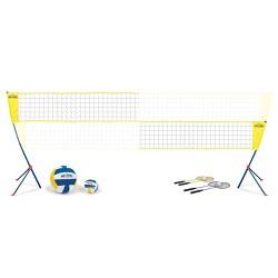 Beyond Outdoors Standard Volleyball/Badminton Set