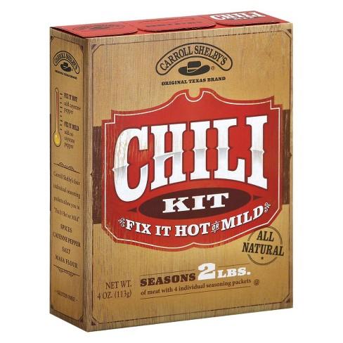 Carroll Shelby's Chili Kit - 3.65oz - image 1 of 4
