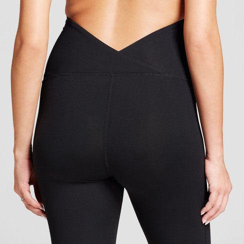 32cd45210d85d Maternity Crossover Panel Active Moto Leggings - Isabel Maternity by Ingrid  & Isabel™ Black