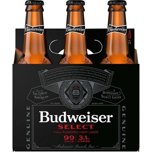Budweiser Select Beer - 6pk/12 fl oz Bottles - image 1 of 1