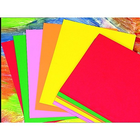 Array Multi-Purpose Paper, 8-1/2 x 11 Inches, 24 lb, Assorted Hyper, pk of 100 - image 1 of 1