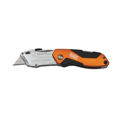 KLEIN TOOLS 44130 Folding Utility Knife, Retractable, Utility, General Purpose,