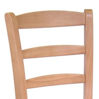 Hannah Dining Chair Wood/Light Oak - Winsome