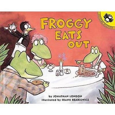 Froggy Eats Out (Reprint)(Paperback)(Jonathan London)