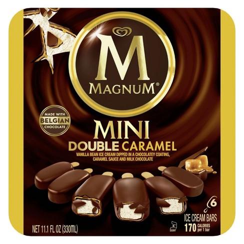 Magnum Mini Ice Cream Bars Double Caramel - 6ct - image 1 of 4