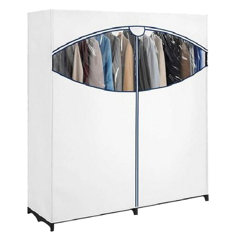 Whitmor Extra Wide Portable Clothes Closet - White - image 1 of 1