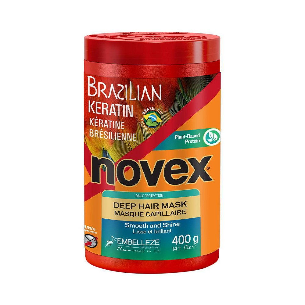 Image of Novex Brazilian Keratin Hair Mask - 14.1oz