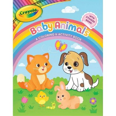 Crayola Baby Animals: A Coloring & Activity Book - (Crayola/Buzzpop)(Paperback)