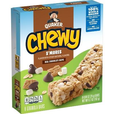 Quaker Chewy Smores Granola Bars - 8ct