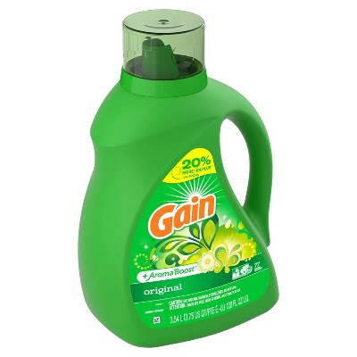 Gain Original + Aroma Boost Liquid Laundry Detergent - 120 fl oz