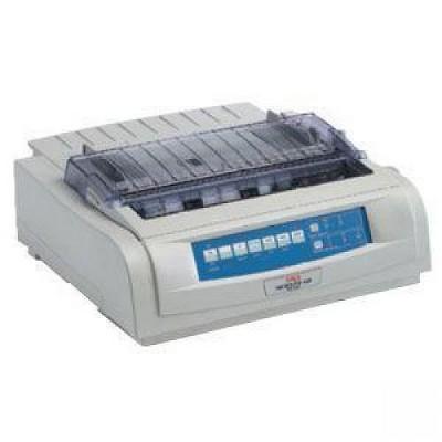 Oki MICROLINE 421N Dot Matrix Printer - 9-pin - 570 cps Mono - 240 x 216 dpi - USB, Parallel