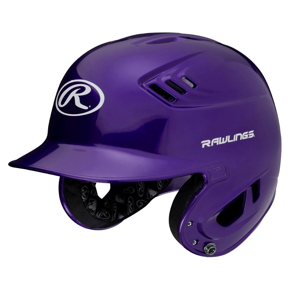 Rawlings R16 Series Metallic Helmet Sr - Purple (6 7/8 - 7 5/8)