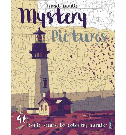 Mystery Pictures : 46 Iconic Scenes to Color by Number (Paperback) (Isobel Lundie) - image 1 of 1
