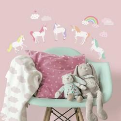 Unicorn Magic Peel and Stick Wall Decal - RoomMates