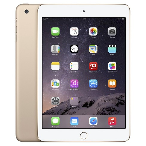 Apple® iPad mini 3 Wi-Fi 64GB - Gold - image 1 of 2