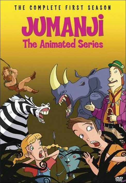 Jumanji:Animated series complete 1st (DVD) - image 1 of 1