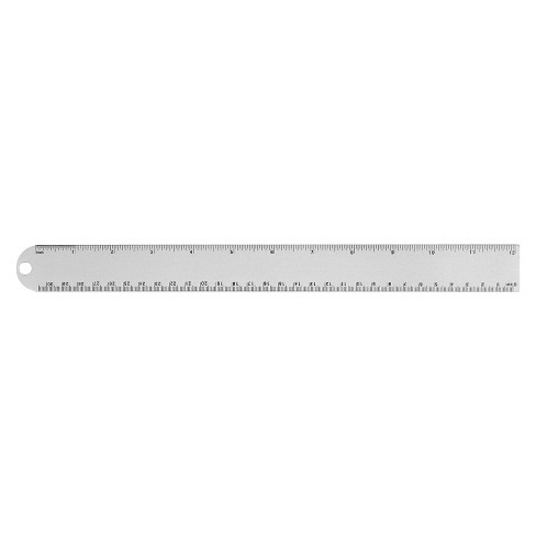 "Metal Ruler 12"" - image 1 of 4"