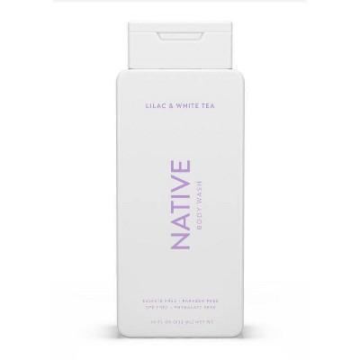 Native Lilac & White Tea Body Wash for Women - 18oz
