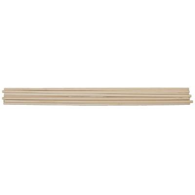 Creativity Street Wood Smooth Birch Dowel, 1/2 X 36 in, White, pk of 10