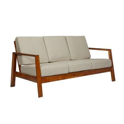 Carlyle Mid-Century Modern Sofa Barley Tan - Handy Living