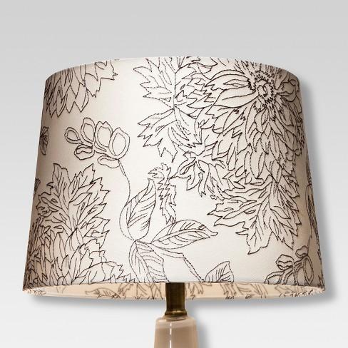 Toile Sch Lamp Shade Threshold