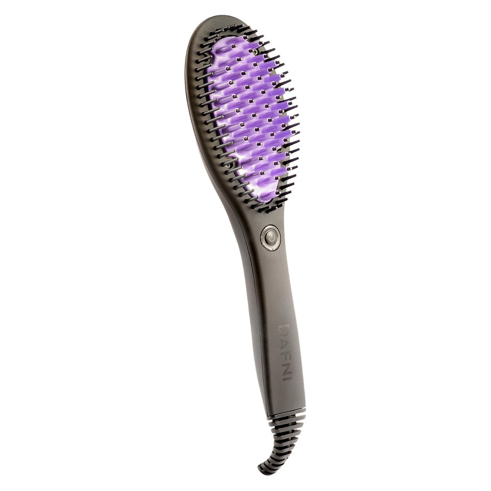 Dafni Original Hair Straightening Brush, Black
