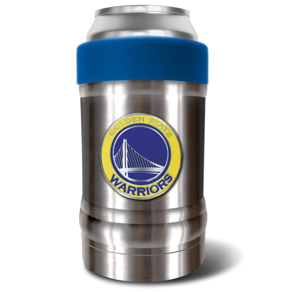 Nba Golden State Warriors 12oz Locker Double Wall Can And Bottle Holder