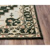 Conley Medallion Wool Area Rug - Rizzy Home - image 2 of 4