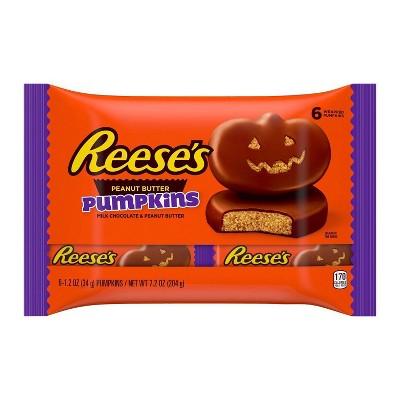 Reese's Halloween Peanut Butter Pumpkin - 7.2oz/6ct