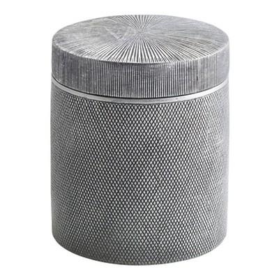 Urban Cotton Jar Silver - Cassadecor