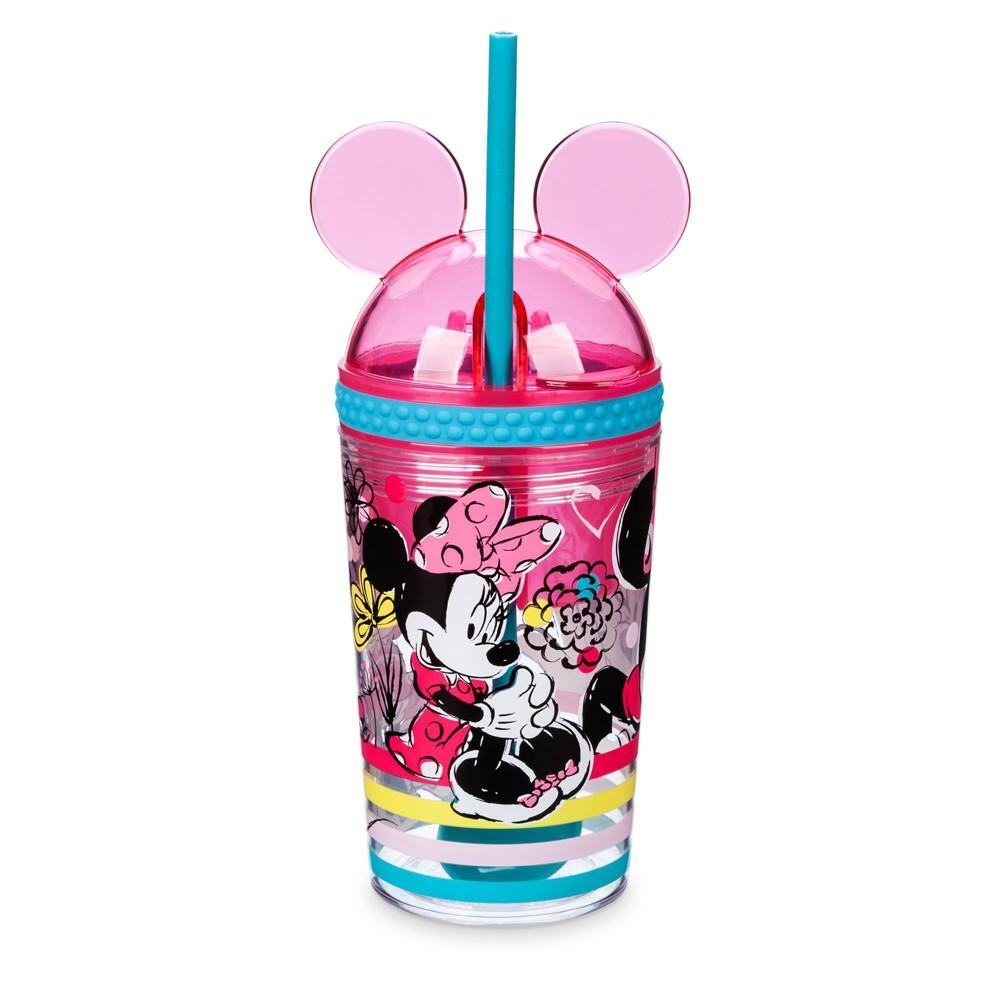 Image of Disney Minnie 10.8oz Plastic Snack and Beverage Holder - Disney Store