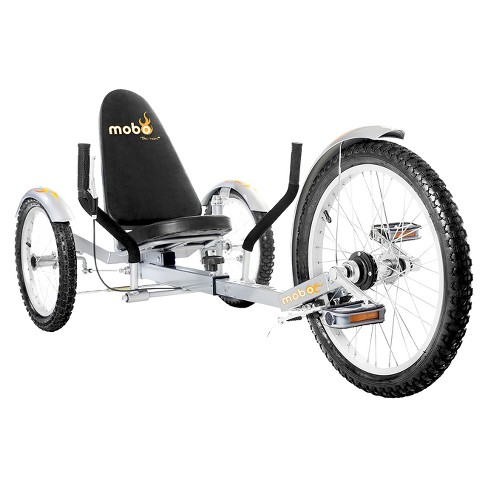"Mobo Adult Triton Pro 20"" Three Wheeled Cruiser - Silver - image 1 of 4"