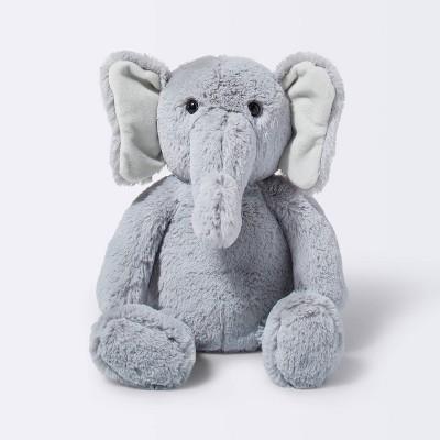Plush Elephant - Cloud Island™ Gray