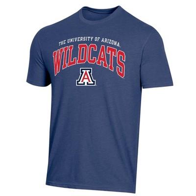 NCAA Arizona Wildcats Men's Short Sleeve Heather T-Shirt