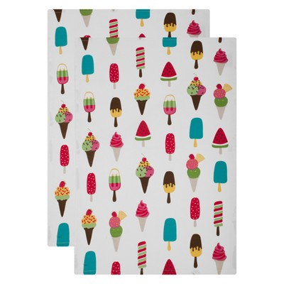 Kitchen Towel White Set of 2 - Mu Kitchen